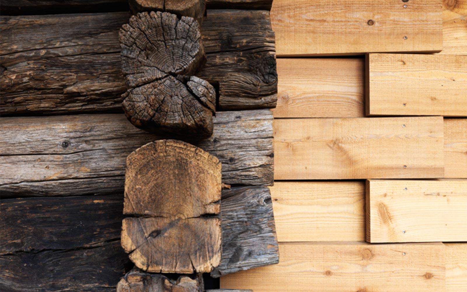 Bois Initial - détail bois