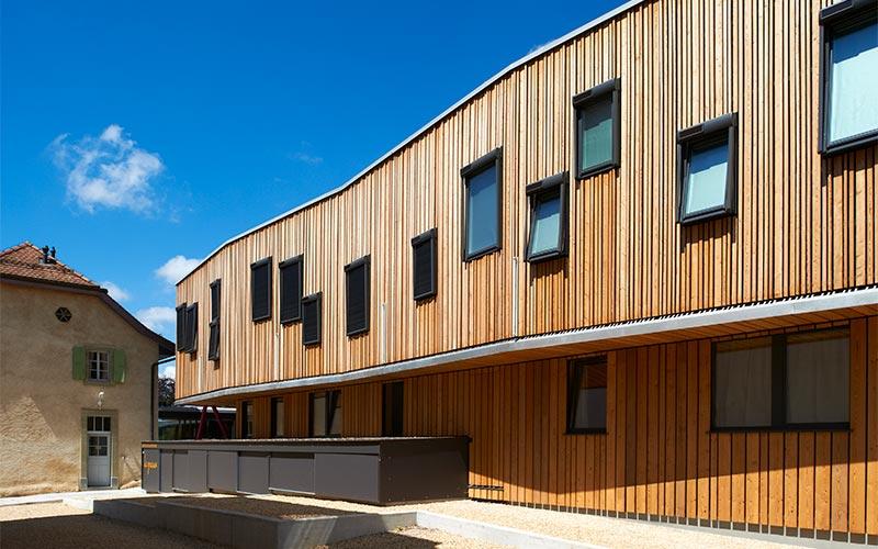 Bois Initial - façade bois