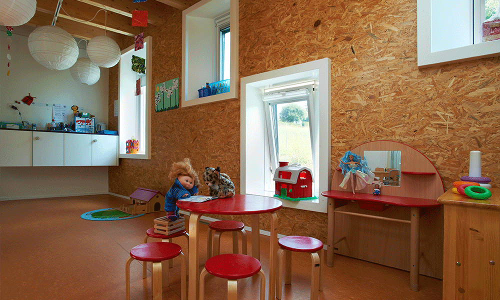 Salle de classe du centre de vie enfantine La Gracieuse