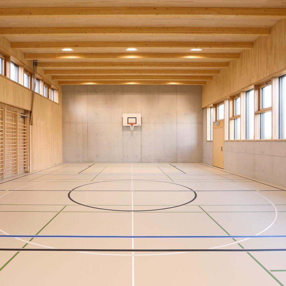 Salle de gymnastique du Collège de Denens