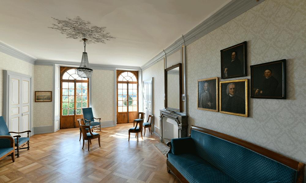 Intérieur du Château Montmirail