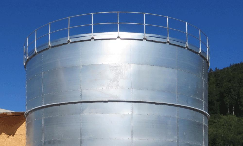 Silo de l'usine Celgene