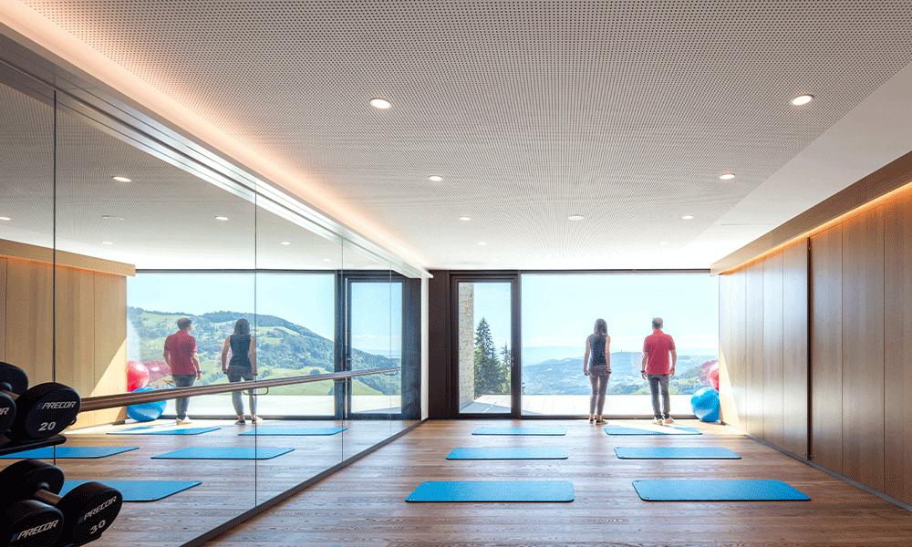 Intérieur de la Clinic Les Alpes Sonloup