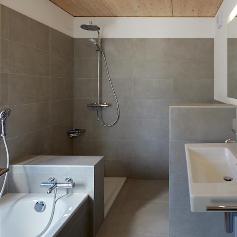 Salle de bains de la villa Otto
