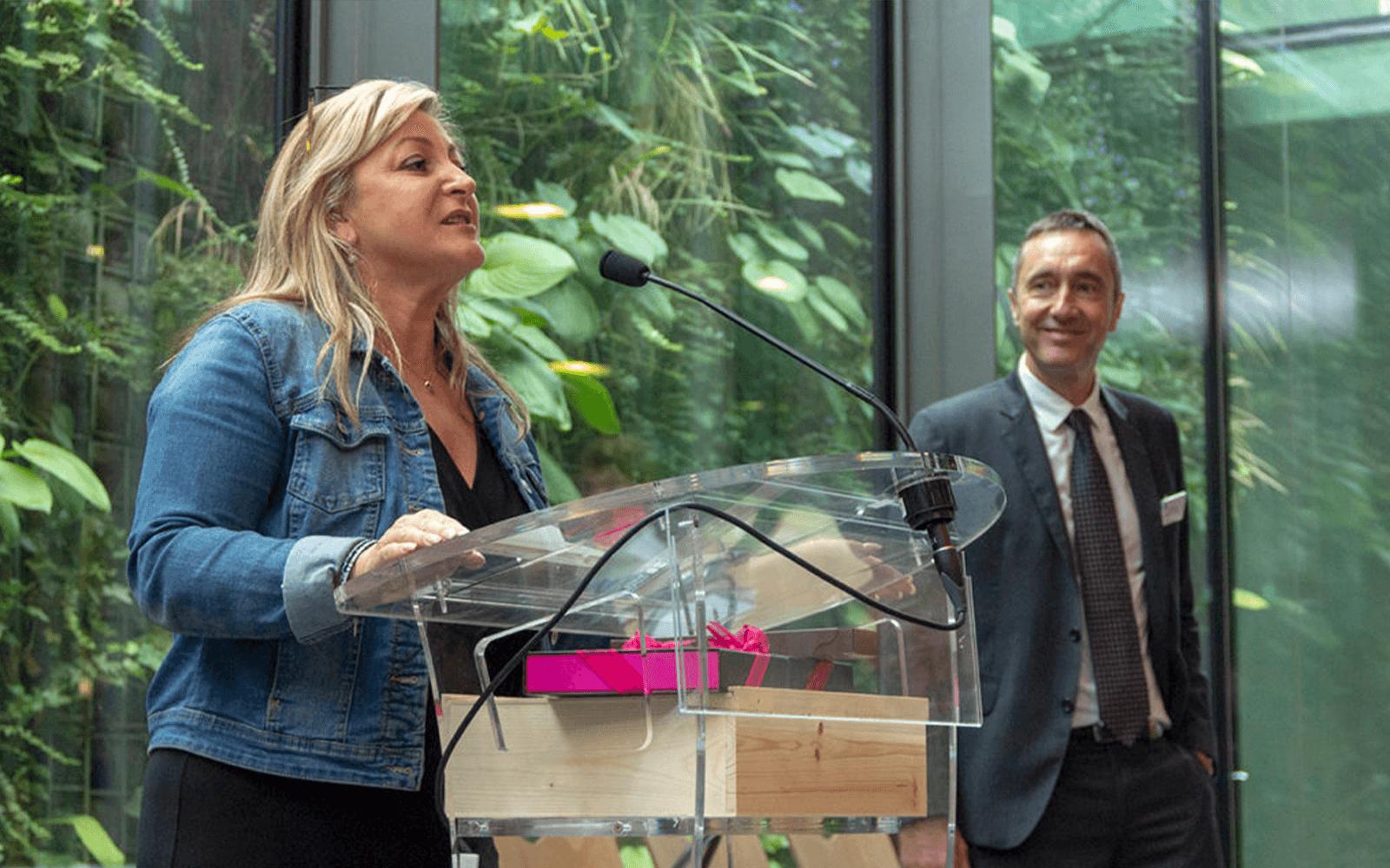Inauguration de Bois Initial en 2018